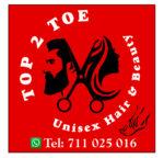 Top 2 Toe Unisex Hair and Beauty Salon