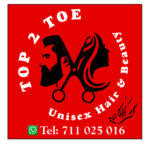 Top 2 Toe Unisex Hair and Beauty Salon